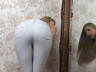 XY ASS IN JEANS TEASE HUMILIATION