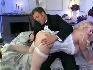A BBW 38g Wedding Night.