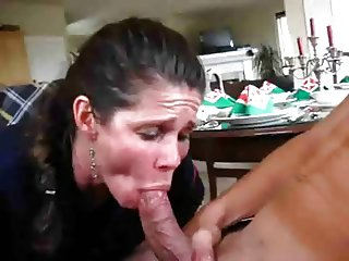 Boy Cums Too Fast MILF Tries To Save The Scene