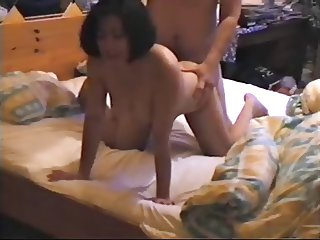 Filipina wife gets pounded