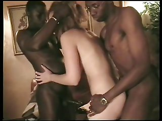 French slut interracial part14