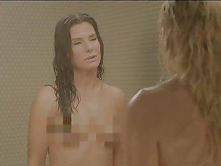 Sandra Bullock and Chelsea Handler in the Shower