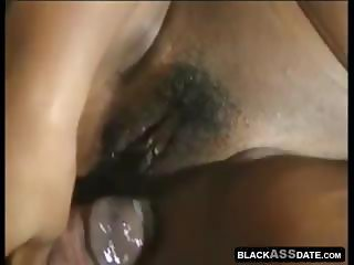 Ebony Star Cinnabon banged by a huge black cock