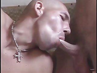 Big tit BBW Bi couple MMF threesome