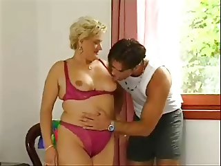 Lotta Noletty with young guy