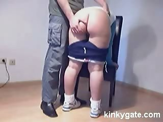Very Painful Spanking for slut Sabina