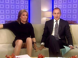 Meredith Vieira Upskirt On The TODAY Show