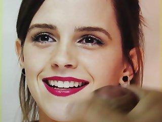 Emma Watson Cum Tribute Bukkake No.2