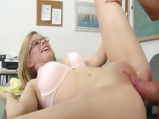 great blowjob with a young student