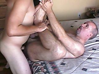 Young Stud Cums Inside My Ass