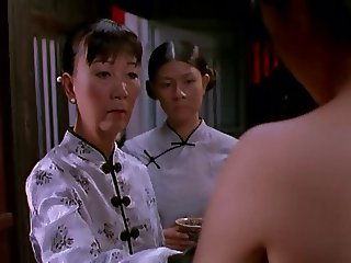 Scenes in Vietnamese movie The White Silk Dress