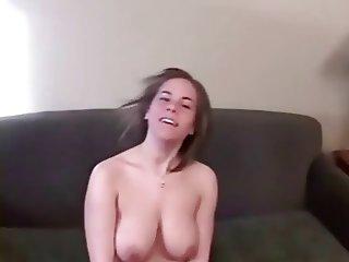 hot slut sucks cock and gets cum blast to face