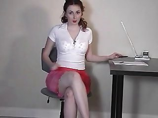 Elli Naughty Secretary Part1