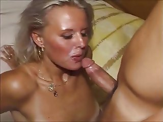 young german blonde fucked by friend