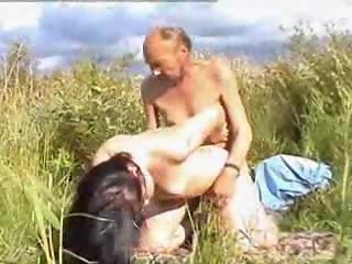 real oldman outdoor free sex