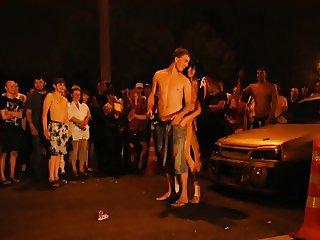 naked girl show