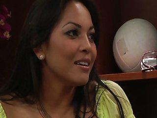 Brunette Adrianna Luna