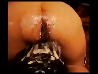 Hugest dildo fuck 2 ass insertion 2 RemiXX