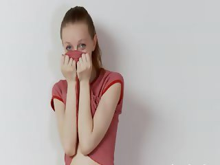 Drunk russian super skinny chick teasing