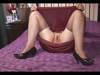 Tess the old beautiful granny scene 3