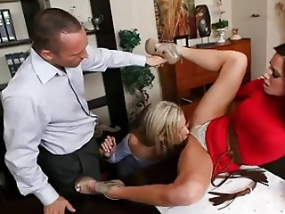 office threesome