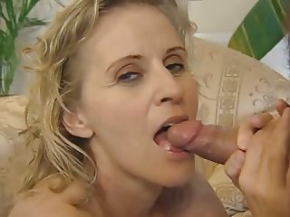Hot Blonde German Aunt