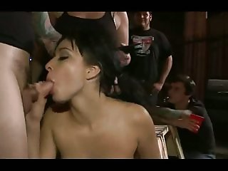 emo slut gets used at a party