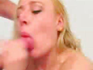 blonde british blow job