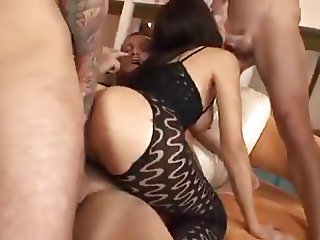 Eloa Lombard bitch from France is badly banged