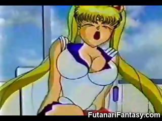 Futanari Cums on Sailor Moon