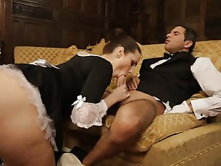 ITISH SLUT PAIGE GETS FUCKED BY THE BUTLER