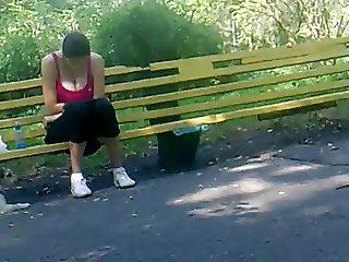 Rus Public FLASH Nice Boobs Girl113 NV