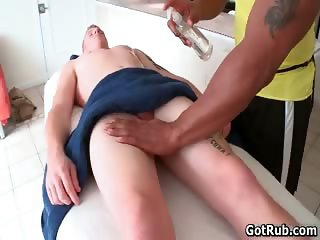 Awesome gay sex with two aroused dudes part1