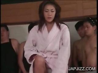 Japanese hoe drinking cum
