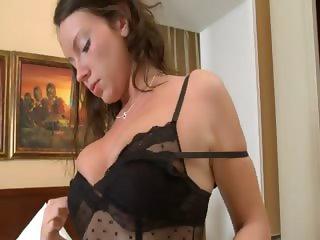 Deep massage of her vagina pussy