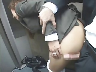 asian office lady fuck censored p1