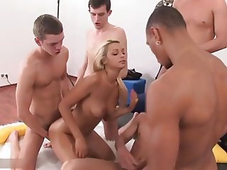 First Gangbang For Jocelyn S88