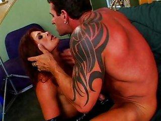 Aria takes a rough anal pounding