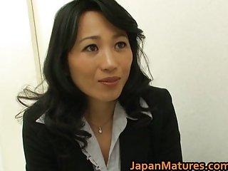 Natsumi Kitahara ass licks her guy