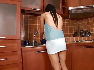 asian kitchen sex uncensored