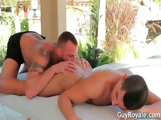 Massage And Tug Ethan Slade and Derek part6