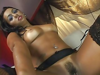 Ju Pantera takes brasilian dick in her ass