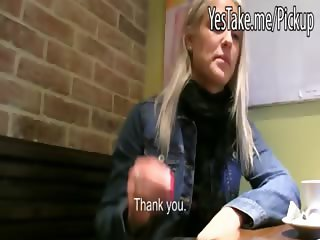Sexy amateur blonde Czech girl Beata sucks and ripped for money