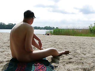 jerk at beach