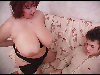 Mature fat lady