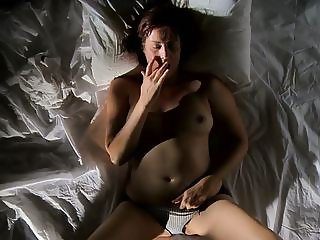 horny milf bates her wet pussy to 2 strong cums