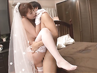 Gorgeous japanese bride