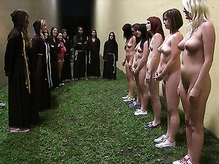 College girls bizarre rituals