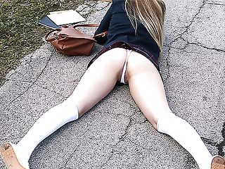 Schoolgirl is hard drilled by BBC